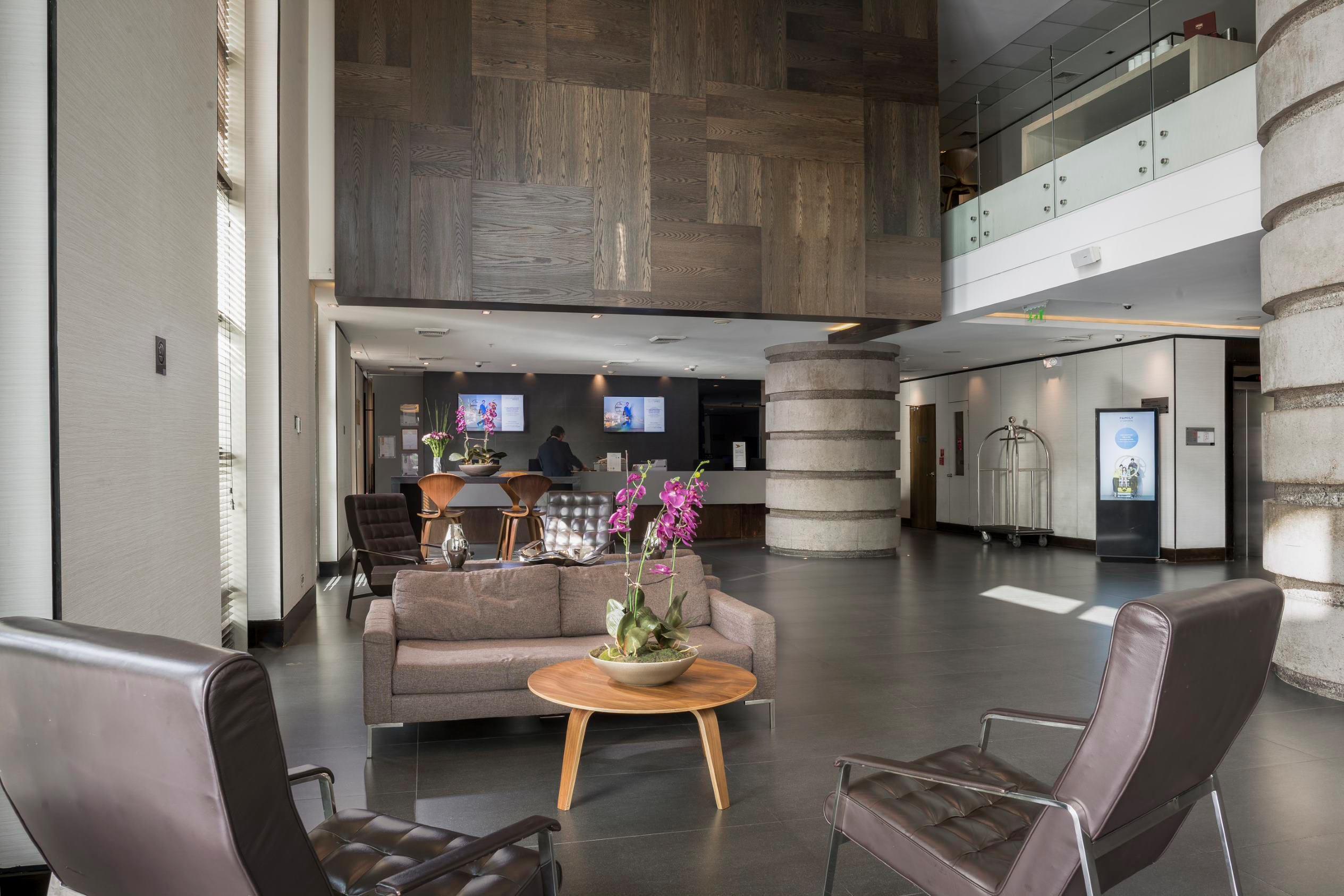 Lobby Hotel Novotel Las Condes