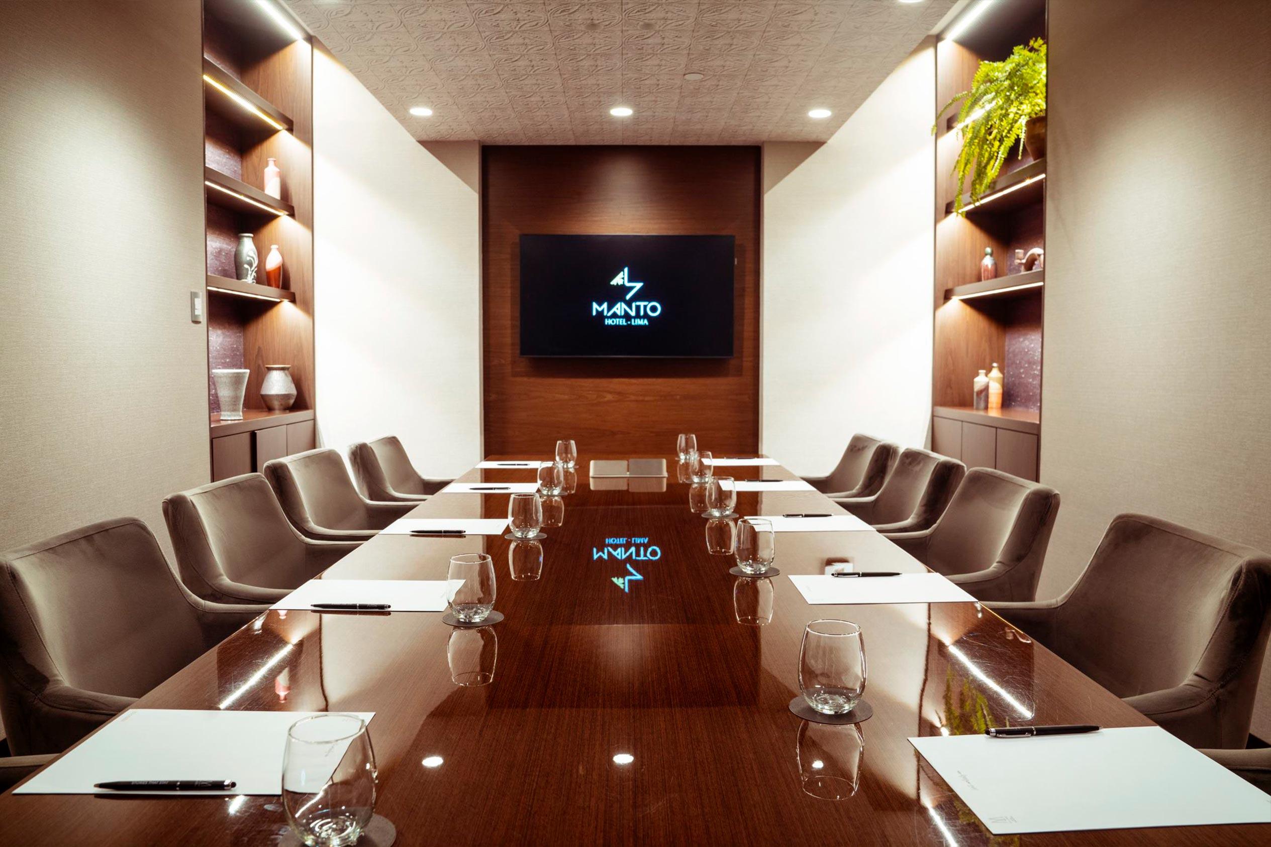 Sala de reuniones Hotel Manto MGallery