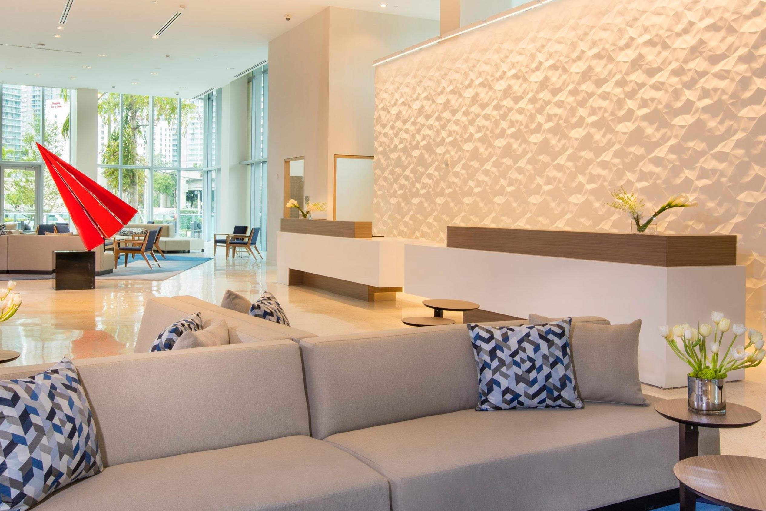 Lobby Novotel Brickell Miami