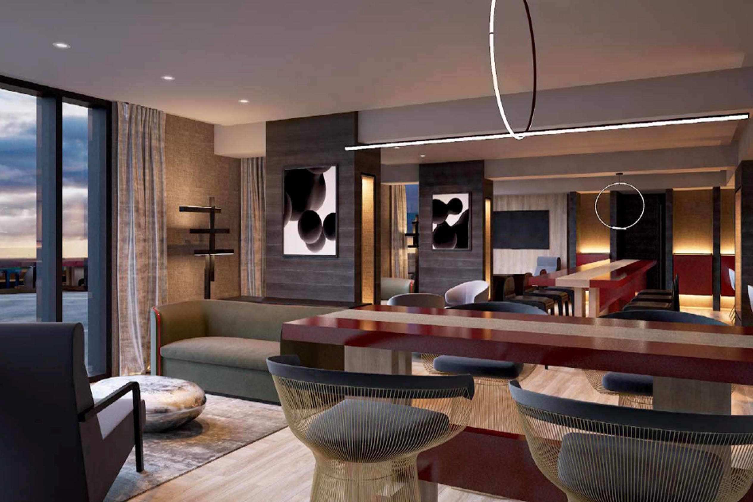 Lounge Hotel Pullman Miraflores