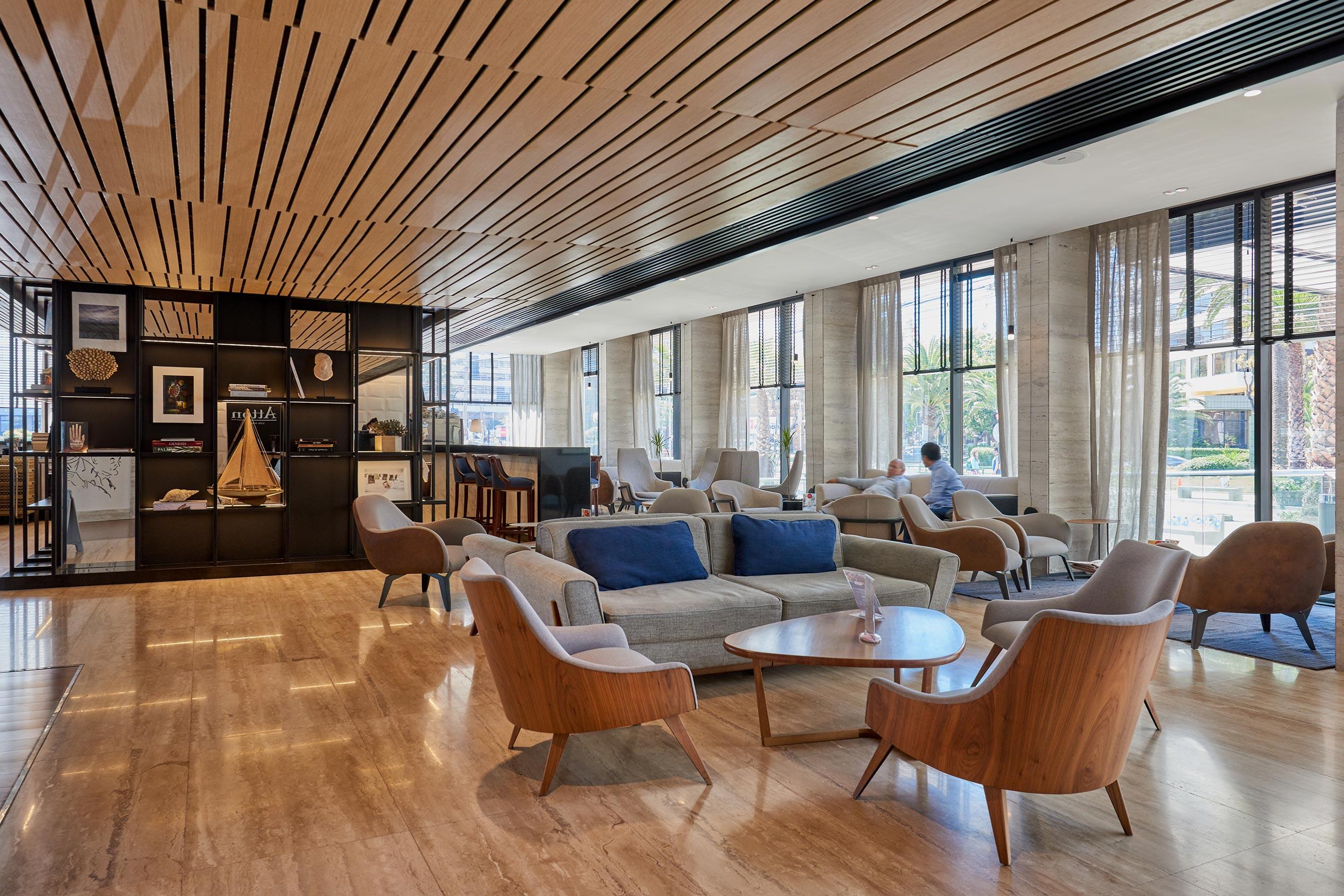 Lobby Hotel Pullman San Martín Viña del Mar